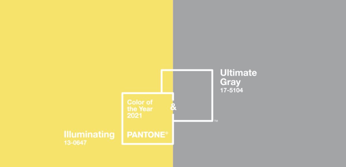 Colores del año 2021 PANTONE Match Diseño y Publicidad